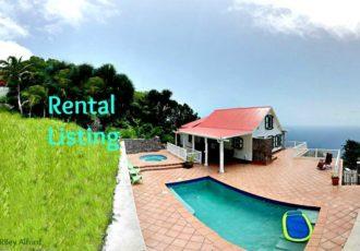 Nearly There Cottage Rental - Albert & Michael - Saba Island Properties