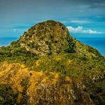 Whale Rock on Saba