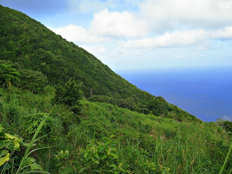 Upper Hells Gate Saba Land For Sale