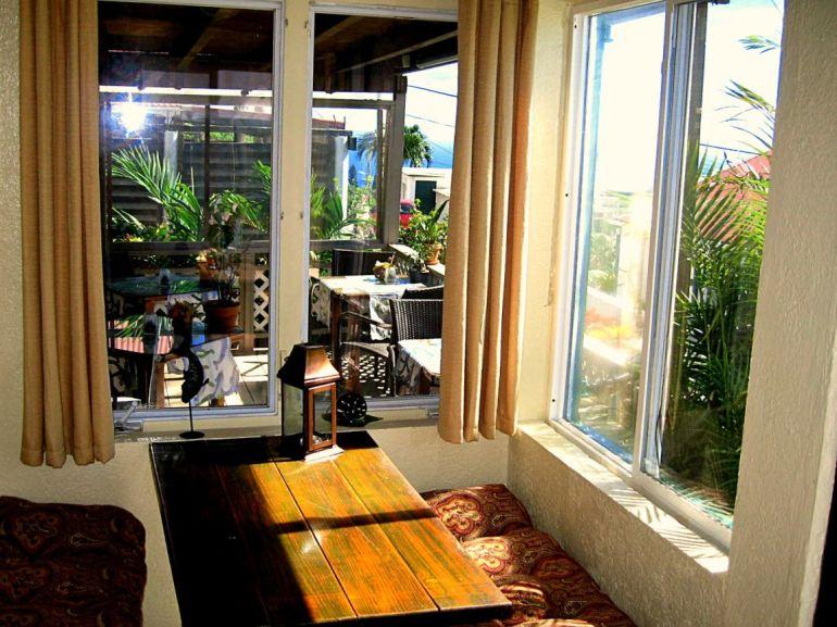 Brigadoon Restaurant Entrance Tables