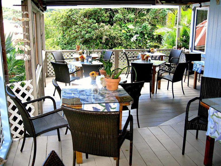 Main Dining Room Brigadoon Saba Dutch Caribbean
