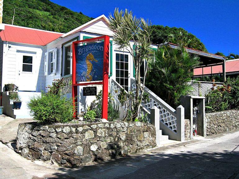 Brigadoon Restaurant Windwardside Saba Dutch Caribbean