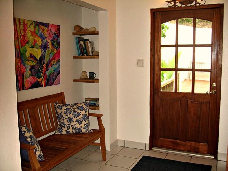 Entrance Carolina Cottage Troy Hill