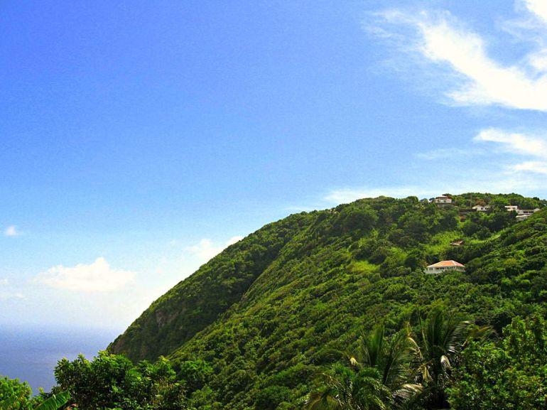 Windwardside Cliff View Saba Dutch Caribbean