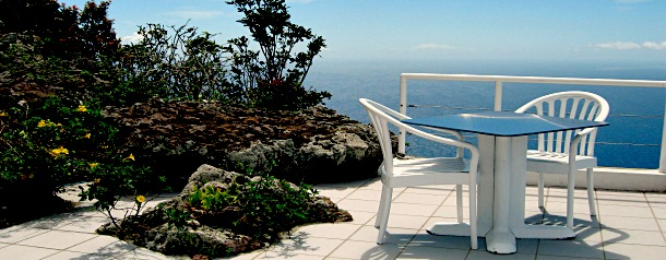 Sanaisland Properties Shearwater outside #7 May 16 2014 chair and Table 610X238