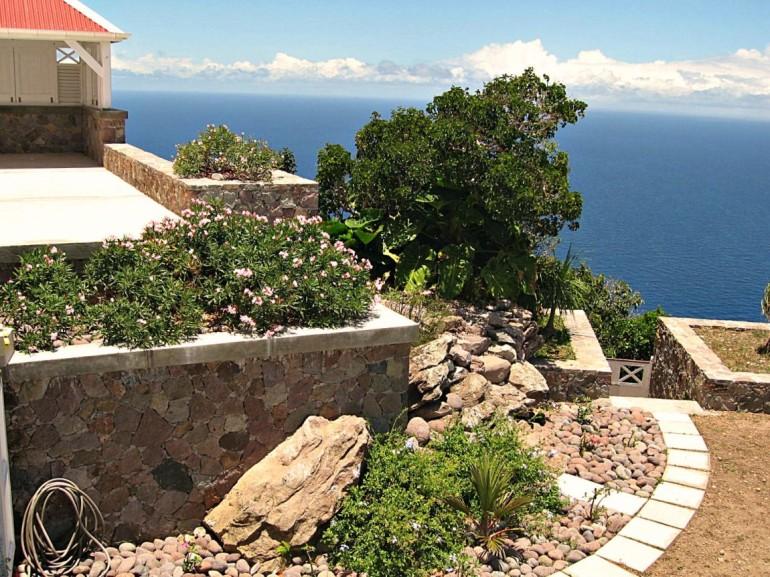 Spyglass Back Garden Caribbean