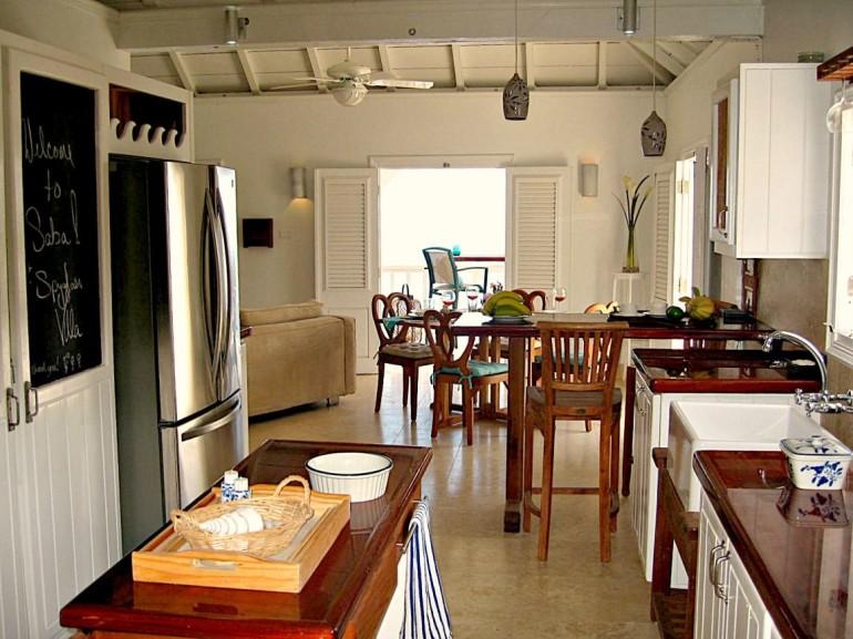 Spyglass Kitchen to Dining Room Saba