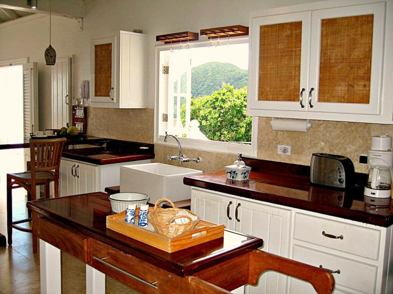 Spyglass Villa Kitchen Booby Hil Point Saba