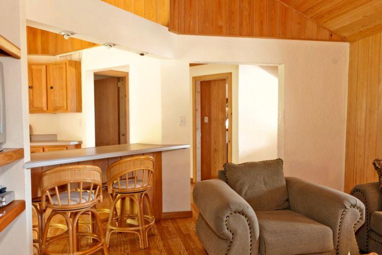 Anne's Cottage Kitchen and Livingroom