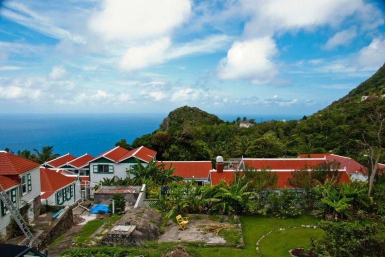 Anne's Cottage Caribbean View Saba Island