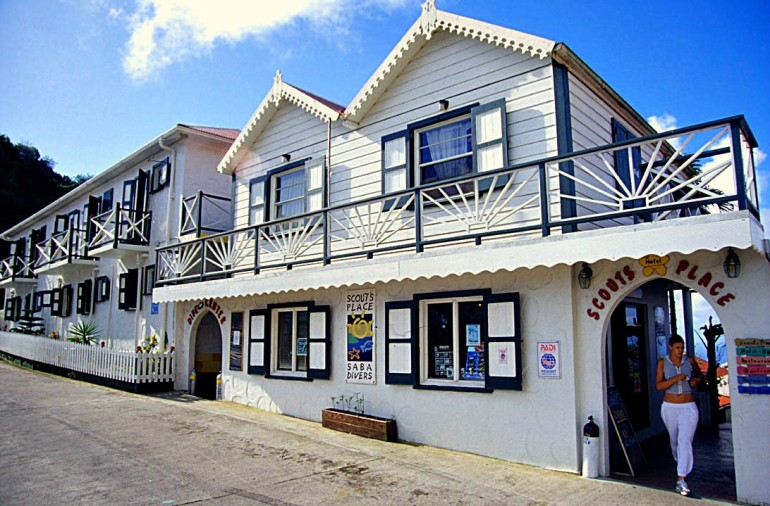 Scout's Place Windwardside Saba Caribbean
