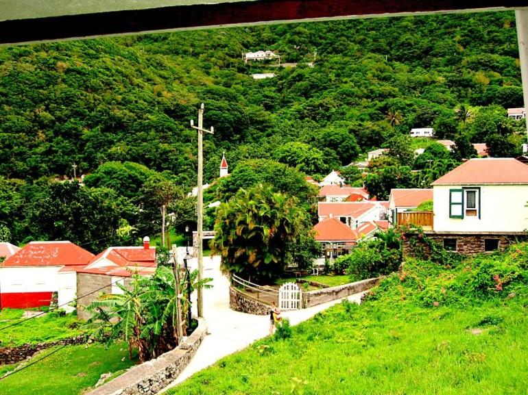 Windwardside Saba
