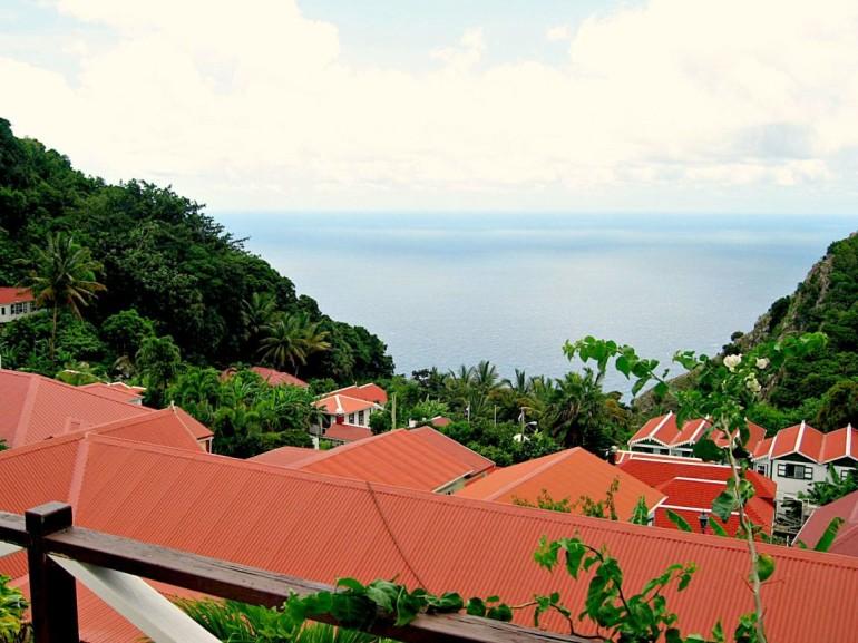 Scout's Place Hotel Restaurant Saba Dutch caribbean