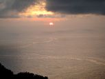 sunrise Saba Dutch Caribbean