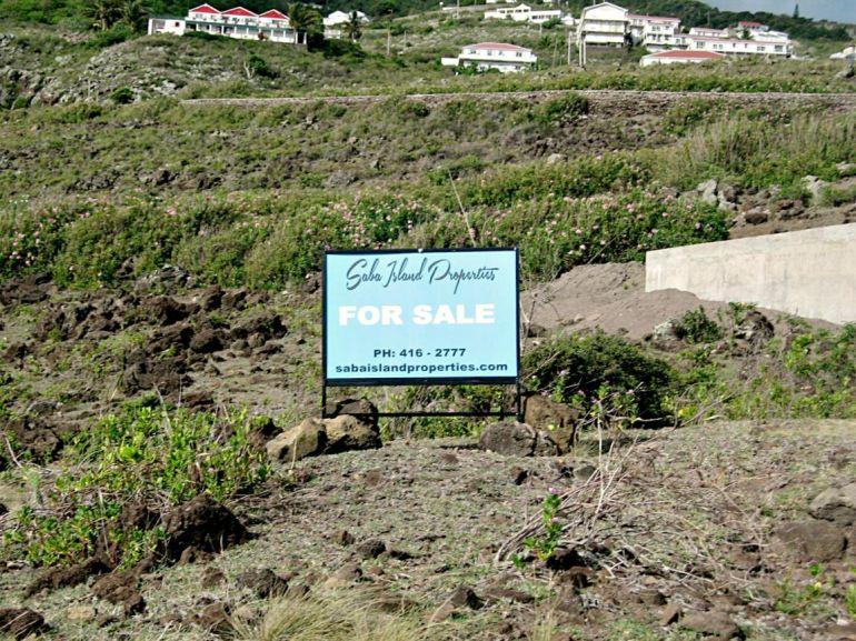 Flat Point Land Saba Island Properties