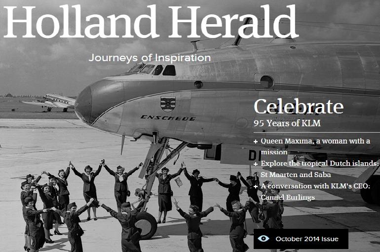 Holland Herald Saba Island Dutch Caribbean 2014 issue