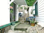 Square Nickel House Entrance Saba