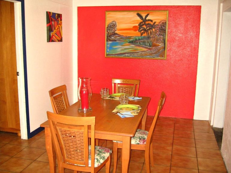 Square NickelDining Room Saba Dutch Caribbean