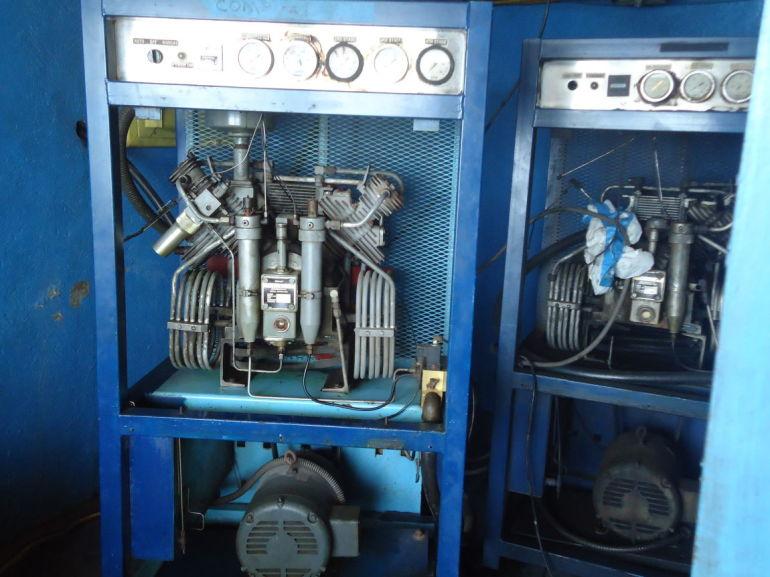 Saba Deep Dive Compressor Fort Bay