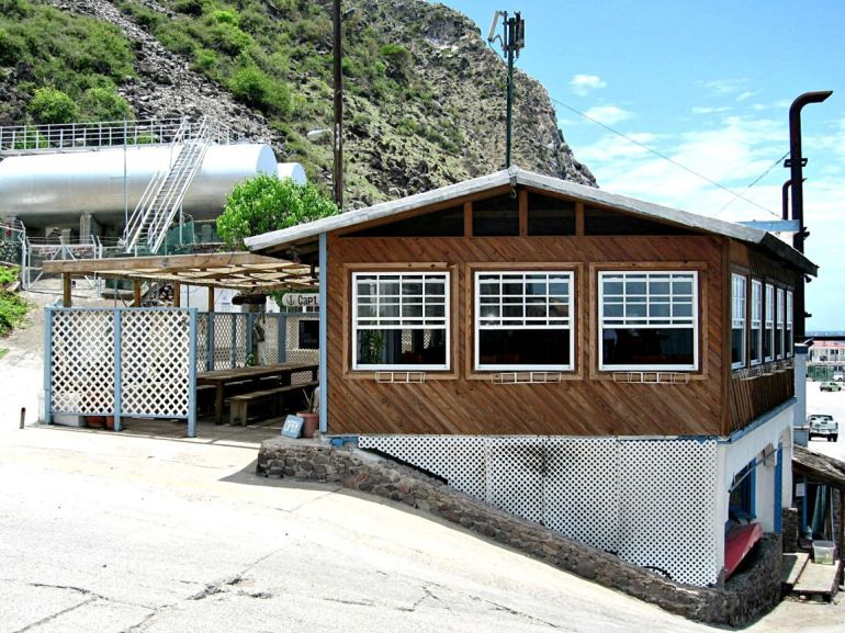 Saba Deep and Deep End Restaurant Dutch Caribbean