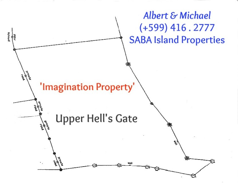 Upper Hell's Gate Saba Land For Sale