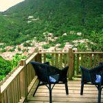 Apartment Deck - The View Saba