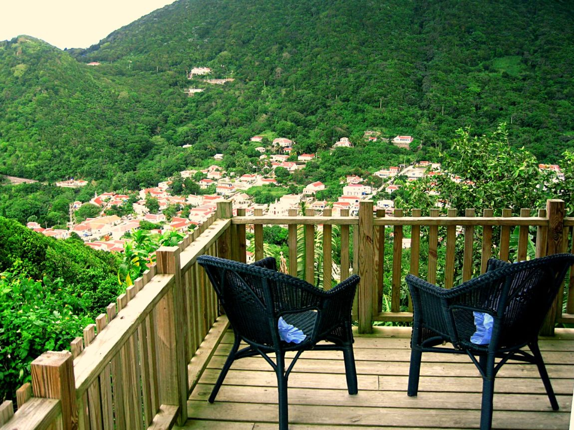 Apartment Deck - The View Saba