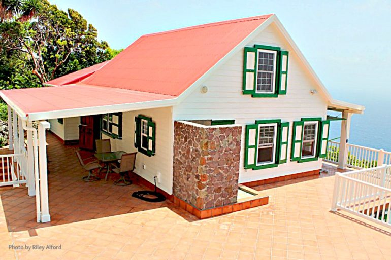 Nearly There Cottage For Sale - Albert & Michael - Saba Island Properties