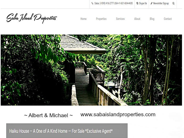 Saba Island Properties Brand