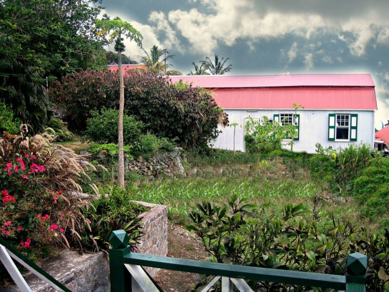 Althea Cottage Yard Saba