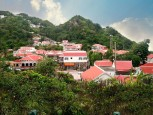 Windwardside Village Saba Dutch Caribbean