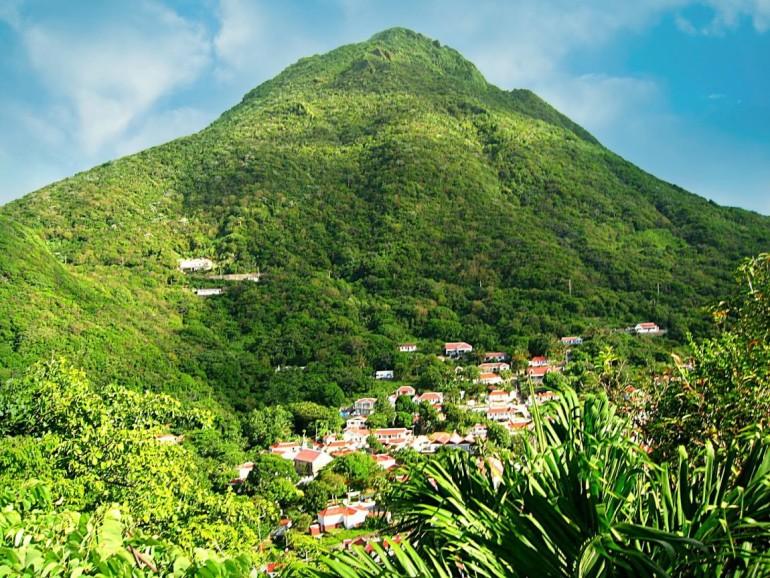 Mt. Scenery and Windwardside Saba