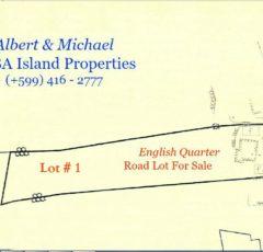 English Quarter Land For Sale Saba