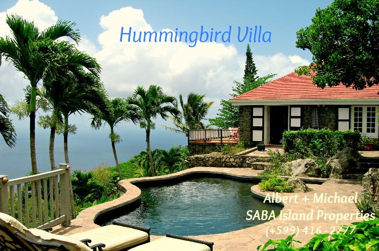 Hummingbird Villa Saba For Sale