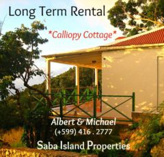 Calliopy Cottage - Long Term Rental - Albert & Michael Saba Island Properties