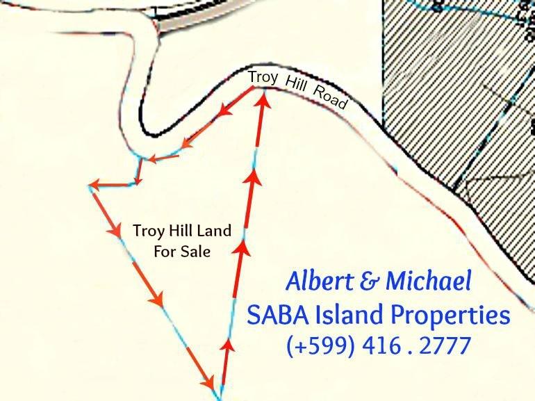 Troy Hill Saba Land for Sale