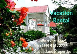 Hibiscus Cottage Rental - Albert & Michael Saba Island Properties