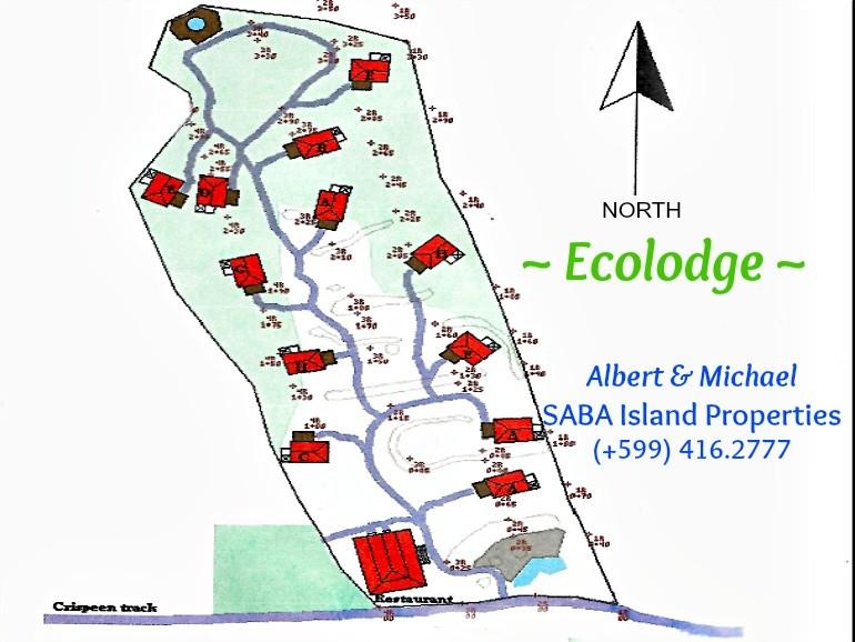 Ecolodge Cottage Map