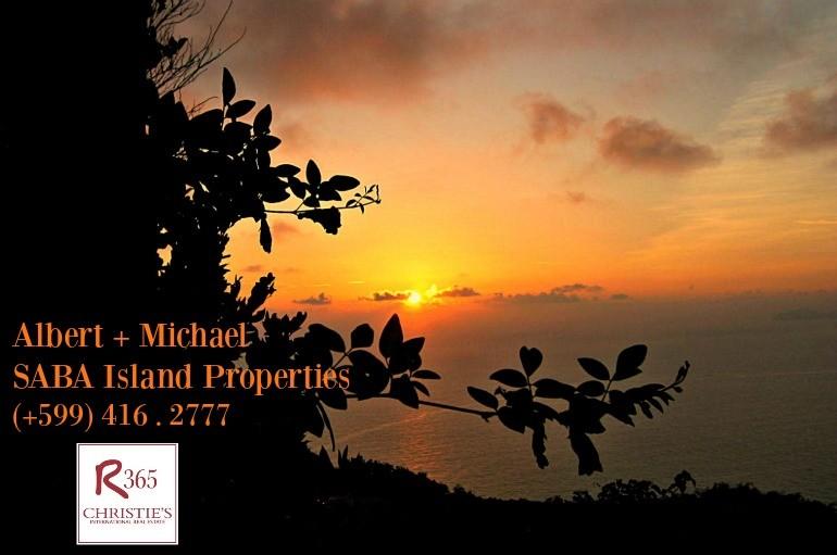 Sunrise on Booby Hill Saba