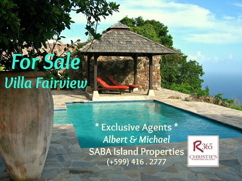Villa Fairview Saba For Sale