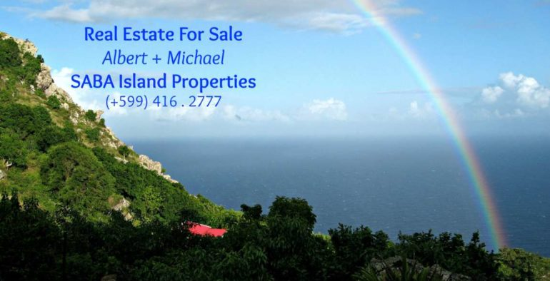 Blue Water Cottage - Albert & Michael - Saba Island Properties