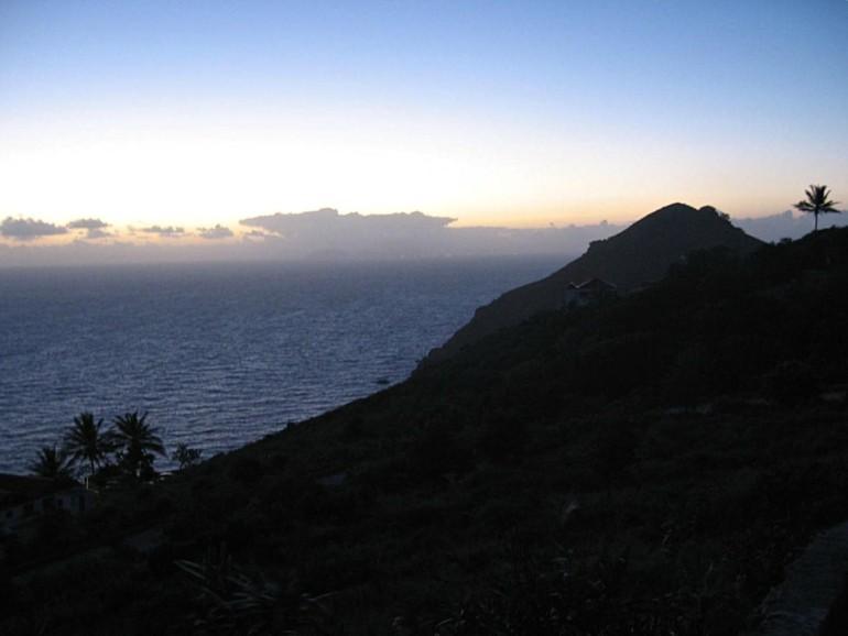 Lower Hell's Gate Sunrise Saba