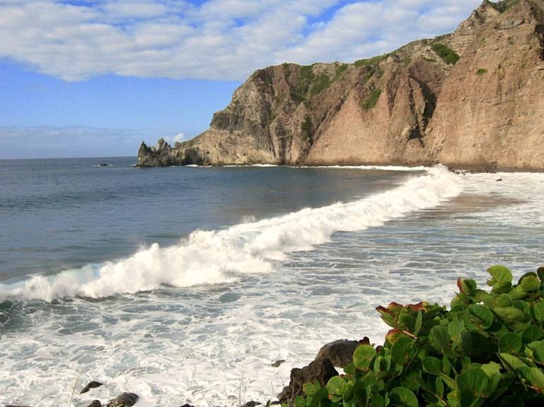 Wells Bay Saba Dutch Caribbean