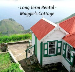 Maggie's Cottage Rental on Saba