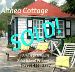 Althea Cottage - Sold - Albert & Michael - Saba Island Properties