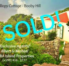 Calliopy Cottage - Sold - Albert & Michael - Saba Island Properties - Exclusive Agents