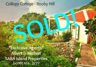 Calliopy Cottage - Sold - Albert & Michael - Saba Island Properties - Exclusive Agents
