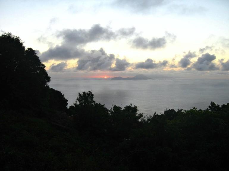 Sunrise Booby Hill Saba