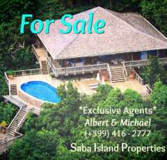 Haiku HOuse - For Sale - Albert & Michael - Saba Island Properties 416 2777