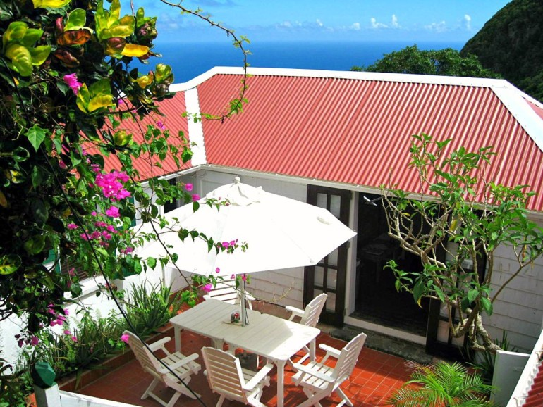 Iris House Rental Saba